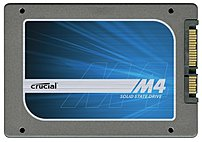 Crucial M4 Series Ct064m4ssd2 64 Gb 2.5-inch Internal Solid State Drive - Sata/600