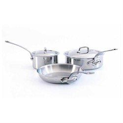Mauviel Cookware M'Cook 5 Piece Stainless Cookware Set