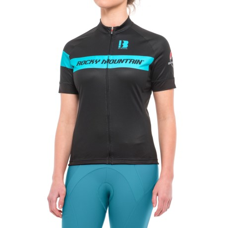 Classic Cycling Jersey - Full Zip, Short Sleeve (for Women)