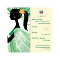Mendelssohn, Delibes, Rossini, Chopin: Orchestral Works (Music CD)