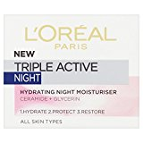 L'Oréal Paris Triple Active Night Cream (50ml)