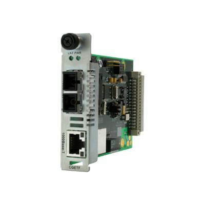 Transition Cgetf1040-110 Point System Slide-in-module Media Converter - Fiber Media Converter - 1 Gbps