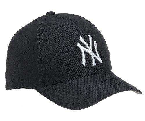 MLB New York Yankees MVP Adjustable Cap, (Black)