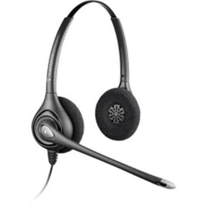 Plantronics 6433931 Hw261n Supraplus Wideband (noise-canceling Binaural) Office Headset - Quick Disconnect