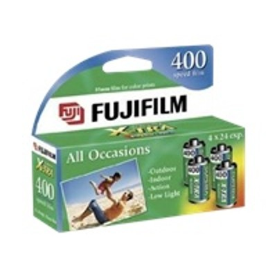 Fujifilm 15717672 Superia X-tra 400 - Color Print Film - 135 (35 Mm) - Iso 400 - 24 Exposures - 4 Rolls