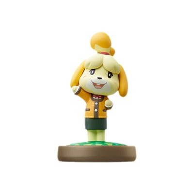 Nintendo Nvlcajaa Amiibo Isabelle - Animal Crossing Series - Additional Video Game Figure