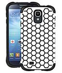 Ballistic Aspira Design Case - White/black Galaxy S Iv Aspira Series C