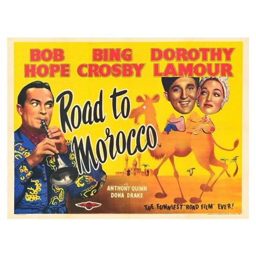 Road to Morocco Poster Movie B 11 x 14 In - 28cm x 36cm Bing Crosby Bob Hope Dorothy Lamour Anthony Quinn Dona Drake Vladimir Sokoloff