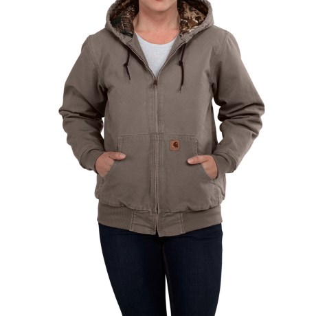 Carhartt Camo-lined Sandstone Active Jacket - Factory Seconds (for Women)