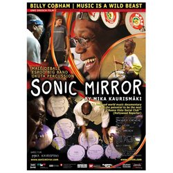Sonic Mirror Poster Movie German 27 x 40 In - 69cm x 102cm Big Band Espoo Randy Brecker Bill Cobham Debal Mal Peu Meurray Percussion Okuta