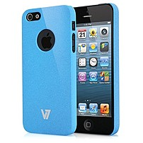 V7 Sand Finish Durable Pc Cover-blu - Iphone - Blue - Sand - Rubber Pa19mblu-2n