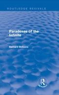 Paradoxes of the Infinite presents one of the most insightful, yet strangely unacknowledged, mathematical treatises of the 19th century: Dr Bernard Bolzano's Paradoxien