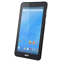 "Acer Iconia B1-770-k3rc Tablet - 7"" - 1 Gb Ddr3l Sdram - Mediatek Mt8127 Quad-core (4 Core) 1.30 Ghz - 16 Gb - Android 4.4 Kitkat - 1024 X 600 - In-plane Switching (ips) Technology - 128:75 Aspect Ratio - Wireless Lan - Bluetooth - Accelerometer - Front C Nt.lbraa.001"