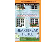 Heartbreak Hotel MP3 UNA Binding: CD/Spoken Word Publisher: Brilliance Audio Publish Date: 2015/01/29 Synopsis: A mismatched collection of guests, including a cuckolded husband and a hypochondriac mail carrier, fill a run-down bed and breakfast opened by a retired actor in Wales