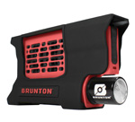 """Brunton Hydrogen Reactor Portable Fuel Cell - Red Brand New Includes Lifetime Warranty, The Brunton Hydrogen Reactor is highly technical device that combines hydrogen with oxygen to produce electricity that will power electronic devices like cameras, smartphones, tablets, GPS, water purifiers and game consoles via a standard USB output"