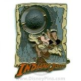Disney Pins - Indiana Jones Adventure -Starring Mickey Mouse Pin 52441