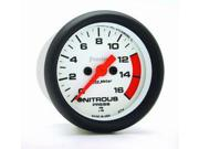 "Auto Meter Phantom Electric Nitrous Pressure Gauge Features: Red Pointer For Quick Glance Monitoring    Safeguard Against Dangerous Conditions    Precision Movement And Extreme Accuracy    1 Year Limited Warranty Height: 6.00"" Width: 6.00"" Length: 6.00"" Weight: 1.00 lbs Vehicle Type: Auto Meter 5774 Phantom; Electric Nitrous Pressure Gauge"