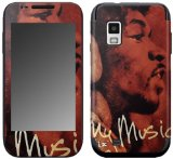 Zing Revolution MS-JIMI50274 Jimi Hendrix - Hear My Music Cell Phone Cover Skin for Samsung Fascinate Galaxy S (SCH-I500)