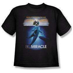 Youth(8-12yrs) BIG MIRACLE Short Sleeve POSTER XLarge T-Shirt Tee