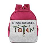 Cirque Du Soleil Logo Toddler Children School Bags Pink