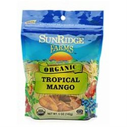 SunRidge Farms Organic, Tropical Mango 5 oz (142 g)