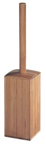 InterDesign Formbu Square Bowl Brush, Bamboo
