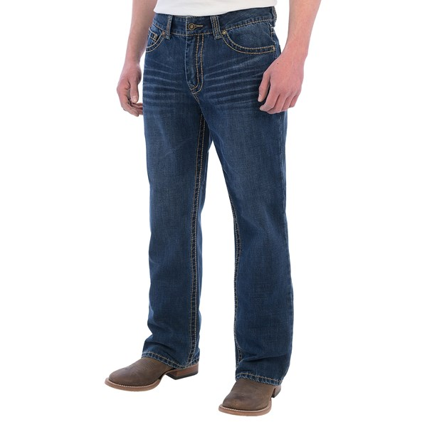 Cowboy Up Lincoln Jeans - Relaxed Fit (For Men)