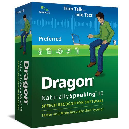 Dragon NaturallySpeaking 10 Preferred Wireless