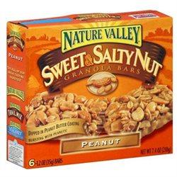 Nature Valley Peanut Bars, 6 bars