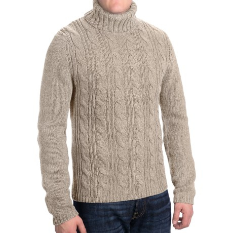 Royal Robbins Marble Cable Turtleneck Sweater (for Men)