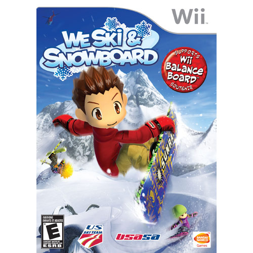 We Ski and Snowboard (works with Wii Balance Board)