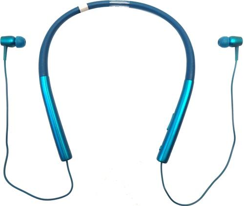 Sony H.ear In Mdr-ex750bt Earset - Stereo - Viridian Blue - Mini-phone - Wired/wireless - Bluetooth - 5 Hz - 40 Khz - Earbud, Behind-the-ear - Binaura