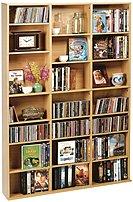 Atlantic 3843-5712 Oskar Multimedia Cabinet - Wood - Maple