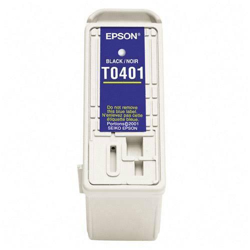 Epson Black Ink Cartridge - Inkjet - 600 Page - Black - 1