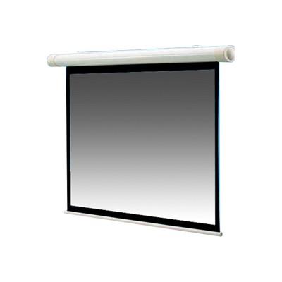 Draper  Inc. 136008 Salara Plug & Play Ntsc Video Format - Projection Screen - Wall Mountable - Motorized - 100 In (100 In) - 4:3 - Fiberglass Matt White