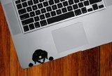 Dog Labrador Watching - Trackpad / Keyboard - Vinyl Decal Copyright © Yadda-Yadda Design Co. (3