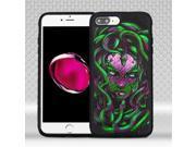 Apple Iphone 8 Plus/7 Plus Mybat Medusa/black Freestyle Challenger Hybrid Protector Cover