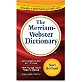 Merriam-Webster Dictionary, 11th Edition