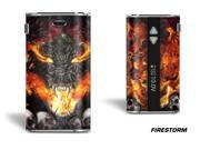 Designer Decal For Eleaf Istick 50w Vape - Firestorm