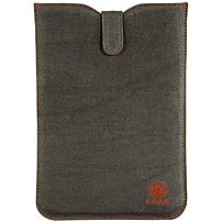 "Gaiam 30799 Carrying Case (sleeve) For Ipad Mini - Dark Gray - Ding Resistant Interior, Drop Resistant Interior - Hemp, Cotton Canvas, Foam Interior - 10.5"" Height X 6"" Width X 0.2"" Depth 035286307994"