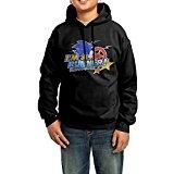 BObiulo Sonic The Hedgehog Sonic Team Logo2 Youth Hooded Sweatshirt