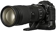 "Nikon D500 20.9 Megapixel Digital Slr Camera With Lens - 200 Mm - 500 Mm - Black - 3.2"" Touchscreen Lcd - 3:2 - 2.5x Optical Zoom - Optical (is) - Ttl - 5568 X 3712 Image - 3840 X 2160 Video - Hdmi - Pictbridge - Hd Movie Mode - Wireless Lan 13518"