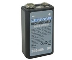 Lenmar Nimh General Purpose Battery - Nickel-metal Hydride (nimh) - 9v Dc Pro19