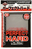 KMC Supplies Sleeves Perfect Fit Hard Collectible Cards, Clear