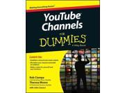 YouTube Channels for Dummies For Dummies Binding: Paperback Publisher: For Dummies Publish Date: 2015/04/27 Synopsis: Offers advice for building an online audience for videos on YouTube, covering such topics as launching and promoting a channel, creating a content strategy, editing video, improving search results, and handling copyright issues