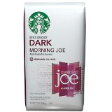 Starbucks Coffee Gold Coast Blend, Dark Morning Joe, Ground 12 oz (340 g) - 6 Pack