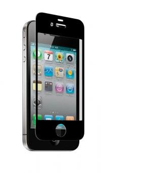 Znitro NGIP5BK Nitro Glass for Apple iPhone 5 - 1 Pack - Screen Protectors - Retail Packaging - Black
