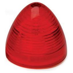 Roadpro RP-30201R-1 2 Beehive Sealed Lamp Red - Single