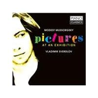 Modest Mussorgsky: Pictures at an Exhibition (Music CD)
