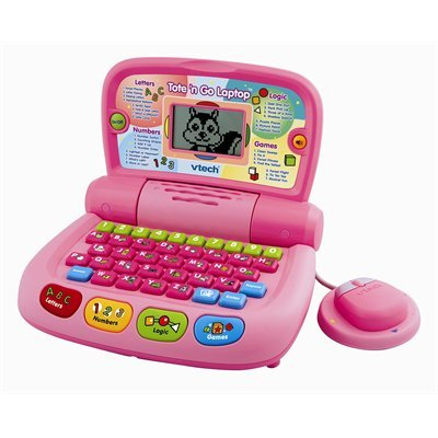 Tote & Go Laptop Pink By Vtech